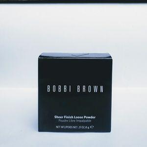 Bobbi Brown Sheer Loose Powder SHADE-Basic Brown